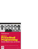 Professional  Windows PowerShell Programming  phần 1