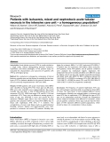 """Báo cáo y học: """"Patients with ischaemic, mixed and nephrotoxic acute tubular necrosis in the intensive care unit – a homogeneous population"""""""