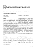 "Báo cáo y học: ""Bench-to-bedside review: Hyperinsulinaemia/euglycaemia therapy in the management of overdose of calcium-channel blockers"""