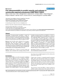 Pro-adrenomedullin to predict severity and outcome in community-acquired pneumonia [ISRCTN04176397]