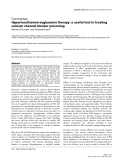 """Báo cáo y học: """"Hyperinsulinemia-euglycemia therapy: a useful tool in treating calcium channel blocker poisoning"""""""