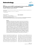 """Báo cáo y học: """"Molecular control of HIV-1 postintegration latency: implications for the development of new therapeutic strategies"""""""