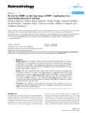 Retrovirology Research  BioMed Central  Open Access  A role for CD81 on the late steps of HIV-1