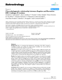 Retrovirology Research  BioMed Central  Open Access  Close phylogenetic relationship between Angolan