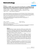 "Báo cáo y học: "" Inhibition of HIV-1 gene expression by Ciclopirox and Deferiprone, drugs that prevent hypusination of eukaryotic initiation factor 5A"""