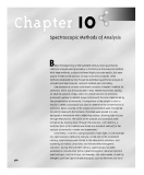 Modern Analytical Cheymistry - Chapter 10
