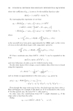 Numerical Methods for Ordinary Dierential Equations Episode 9