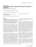 "Báo cáo khoa học: ""Antimicrobial resistance and patient outcomes: the hazards of adjustment"""