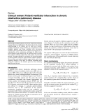 """Báo cáo khoa học: """" Clinical review: Patient-ventilator interaction in chronic obstructive pulmonary disease"""""""
