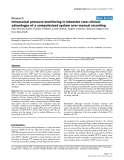 """Báo cáo khoa học: """"Intracranial pressure monitoring in intensive care: clinical advantages of a computerized system over manual recording"""""""