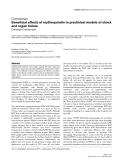 """Báo cáo khoa học: """"Beneficial effects of erythropoietin in preclinical models of shock and organ failure"""""""