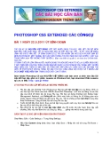 PHOTOSHOP CS5 EXTENDED CÁC CÔNGCỤ
