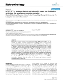 """Báo cáo y học: """"HTLV-1 Tax mutants that do not induce G1 arrest are disabled in activating the anaphase promoting complex"""""""