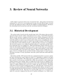 Speech recognition using neural networks - Chapter 3