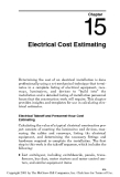 EC&M's Electrical Calculations Handbook - Chapter 15