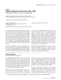 "Báo cáo khoa học: ""Clinical relevance of the PaO2/FiO2 ratio"""