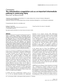 "Báo cáo y học: ""The inflammation–coagulation axis as an important intermediate pathway in acute lung injury"""