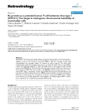 """Báo cáo y học: """"Ku protein as a potential human T-cell leukemia virus type 1 (HTLV-1) Tax target in clastogenic chromosomal instability of mammalian cells"""""""