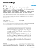 """Báo cáo y học: """" Identification of unique reciprocal and non reciprocal cross packaging relationships between HIV-1, HIV-2 and SIV reveals an efficient SIV/HIV-2 lentiviral vector system with highly favourable features for in vivo testing and clinical usage"""""""
