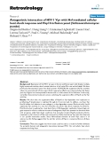 "Báo cáo y học: "" Antagonistic interaction of HIV-1 Vpr with Hsf-mediated cellular heat shock response and Hsp16 in fission yeast (Schizosaccharomyces pombe)"""