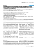 "Báo cáo y học: "" Pentobarbital versus thiopental in the treatment of refractory intracranial hypertension in patients with traumatic brain injury: a randomized controlled trial"""