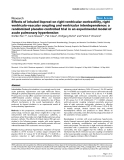 """Báo cáo y học: """" Effects of inhaled iloprost on right ventricular contractility, right ventriculo-vascular coupling and ventricular interdependence: a randomized placebo-controlled trial in an experimental model of acute pulmonary hypertension"""""""