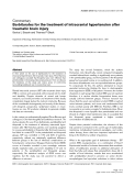 "Báo cáo y học: ""Barbiturates for the treatment of intracranial hypertension after traumatic brain injury"""