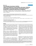 "Báo cáo y học: ""he adenosine deaminase inhibitor erythro-9-[2-hydroxyl-3-nonyl]-adenine decreases intestinal permeability and protects against experimental sepsis: a prospective, randomised laboratory investigation"""