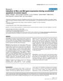 "Báo cáo y học: ""Induction of Bim and Bid gene expression during accelerated apoptosis in severe sepsis"""