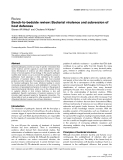"""Báo cáo y học: """"Bench-to-bedside review: Bacterial virulence and subversion of host defence"""""""