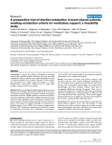 "Báo cáo y học: ""A prospective trial of elective extubation in brain injured patients meeting extubation criteria for ventilatory support: a feasibility study"""
