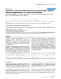 "Báo cáo y học: ""Expiratory automatic endotracheal tube compensation reduces dynamic hyperinflation in a physical lung model"""
