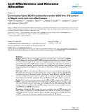 "Báo cáo y học: ""Community-based DOTS and family member DOTS for TB control in Nepal: costs and cost-effectiveness"""