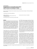 "Báo cáo y học: ""rogesterone in traumatic brain injury: time to move on to phase III trials"""