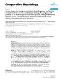 """Báo cáo y học: """"A new parameter using serum lactate dehydrogenase and alanine aminotransferase level is useful for predicting the prognosis of patients at an early stage of acute liver injury: A retrospective study"""""""