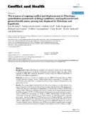 """Báo cáo y học: """"The trauma of ongoing conflict and displacement in Chechnya: quantitative assessment of living conditions, and psychosocial and general health status among war displaced in Chechnya and Ingushetia"""""""