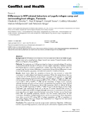 """Báo cáo y học: """"Differences in HIV-related behaviors at Lugufu refugee camp and surrounding host villages, Tanzania"""""""