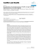 "Báo cáo y học: ""An exploration of social determinants of health amongst internally displaced persons in northern Uganda"""