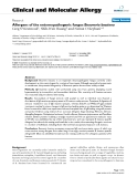 "Báo cáo y học: ""Allergens of the entomopathogenic fungus Beauveria bassiana"""
