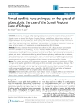 "Báo cáo y học: ""Armed conflicts have an impact on the spread of tuberculosis: the case of the Somali Regional State of Ethiopia"""