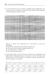 Essential Cardiac Electrophysiology  Self Assessment - Part 6