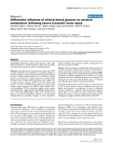 "Báo cáo y học: ""Differential influence of arterial blood glucose on cerebral metabolism following severe traumatic brain injury"""