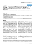 "Báo cáo y học: ""Effects of interventional lung assist on haemodynamics and gas exchange in cardiopulmonary resuscitation: a prospective experimental study on animals with acute respiratory distress syndrome"""