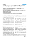 """Báo cáo y học: """"Prolonged treatment with N-acetylcystine delays liver recovery from acetaminophen hepatotoxicity"""""""