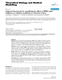 """Báo cáo y học: """"A general framework for quantifying the effects of DNA repair inhibitors on radiation sensitivity as a function of dose"""""""
