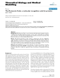 "Báo cáo y học: ""The Proteomic Code: a molecular recognition code for proteins"""