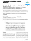 """Báo cáo y học: """"Computational models in plant-pathogen interactions: the case of Phytophthora infestans"""""""
