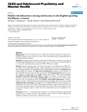 """Báo cáo y học: """" Health risk behaviours among adolescents in the English-speaking Caribbean: a review"""""""