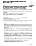 "Báo cáo y học: ""Atomoxetine treatment and ADHD-related difficulties as assessed by adolescent patients, their parents and physicians"""