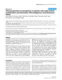 """Báo cáo y học: """"Pharmacokinetics of epinephrine in patients with septic shock: modelization and interaction with endogenous neurohormonal status"""""""